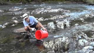 How To Find Gold #7 - How To Sluice For Gold, Part 2
