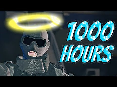 What 1000 HOURS of RECRUIT Experience Looks Like - Rainbow Six Siege