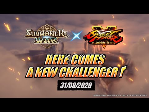 [ES] ¡Summoners War x Street Fighter Ⅴ Collaboration Próximamente!