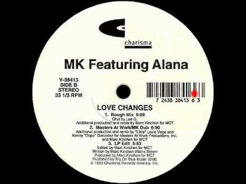 Love Changes (Masters At Work - MK Dub) - MK Featuring Alana - Charisma (Side B2)