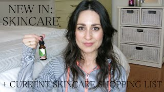 New In: Skincare [ Honest Beauty, Uma, Stark ] + Skincare Shopping List | L