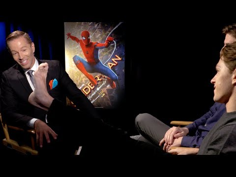 Tom Holland Shows Off His Spider-Man Tattoo EXCLUSIVE (Full Interview)