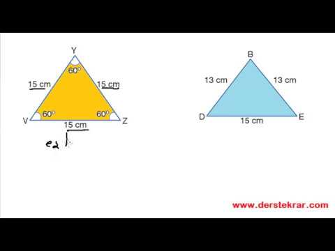 4. Sınıf Kenarlarına ve Açılarına Üçgenler Konu Anlatımı