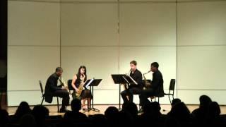 Desenclos - Quatour, mvt. III (UNCSA High School Quartet)