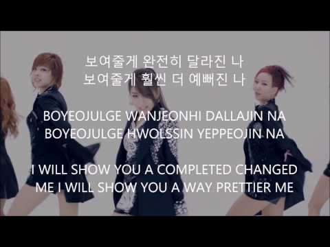 I Will Show You - Ailee [Han,Rom,Eng] Lyrics