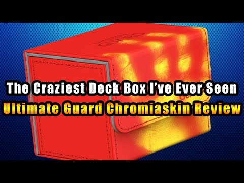 The Craziest Deck Box I've Ever Seen - Ultimate Guard Chromiaskin Review