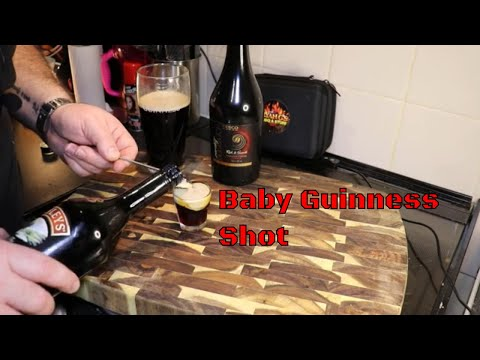 how-to-make-a-baby-guinness-shot-#guinness-#babyguinnness-#drinktips