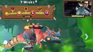 Hungry Dragon - T-Wreks (ДРАКОЗАВР) - ОБЗОР ДРАКОНА - Прохождение 16