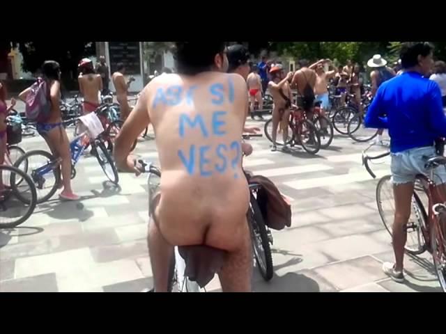 5ta edición del WNBR World Naked Bike Ride Morelia 2014