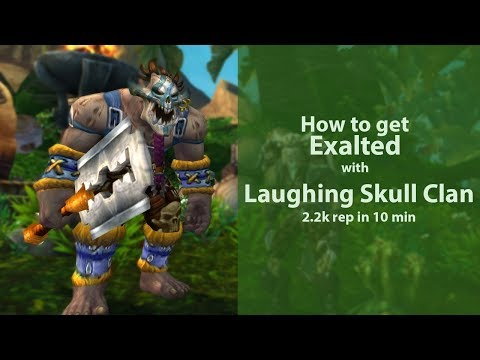 How to get 2200 rep with Laughing Skull in 10 min! 8 1 5