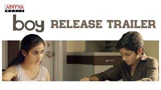 Boy Telugu Movie Release Trailer | Lakshya Sinha, Sahiti | Amar Viswaraj