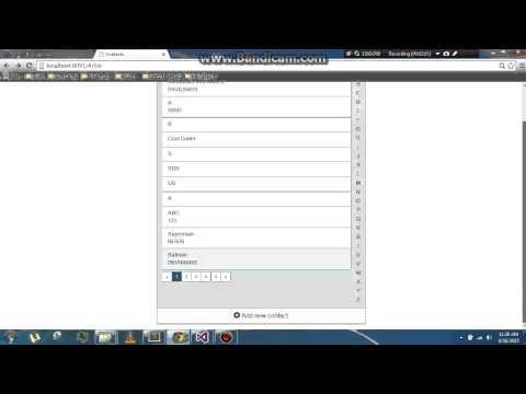 Contact Management Application