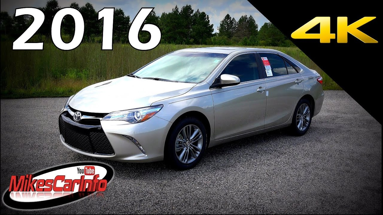2016 toyota camry se ultimate in depth look in 4k youtube. Black Bedroom Furniture Sets. Home Design Ideas