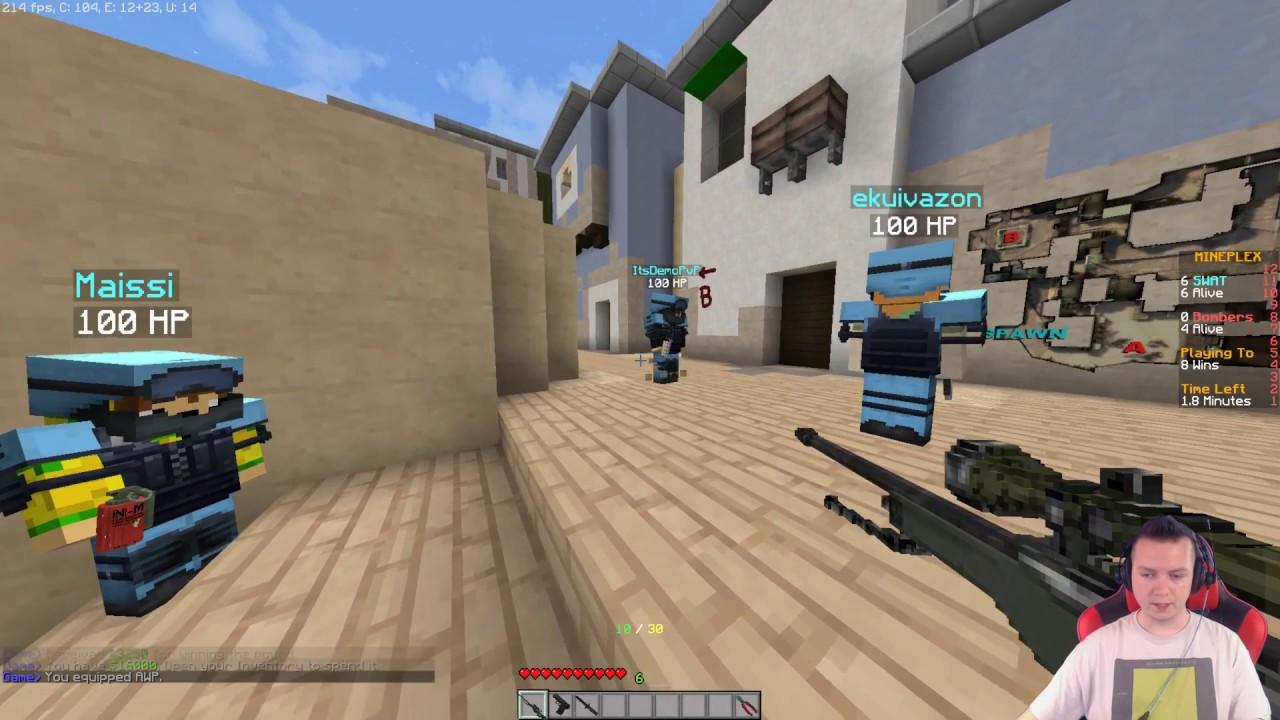 Minecraft MineStrike #02 – ALE ICH POCISNĘLIŚMY!!