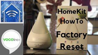 HomeKit HowTo: Reset VOCOlinc Flowerbud Smart Diffuser