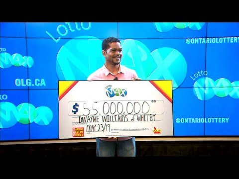 35-year-old Father Reacts After Winning $55M Lotto Max Jackpot