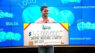 A 35-year-old tech entrepreneur says he is thinking about how will balance financial responsibility with his winnings.subscribe to ctv news watch more ...