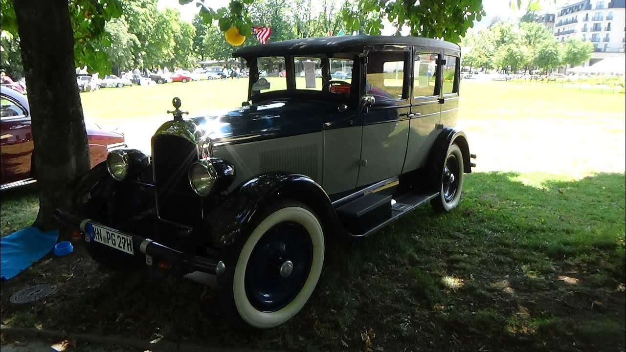 1927 paige sedan 4 door exterior and interior oldtimer for 1927 nash 4 door sedan