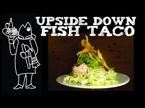 Mahi Mahi Fish Tacos 😮? Dorado Recipe 🇲🇽 How To Make Cook Your Catch Mexican Fish Taco Upside Down