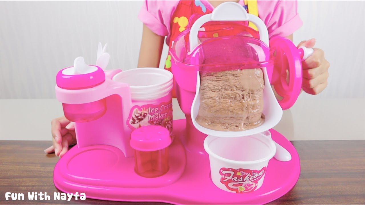 Mainan Anak My Ice Cream Maker Make Your Own Ice Cream Chocolate