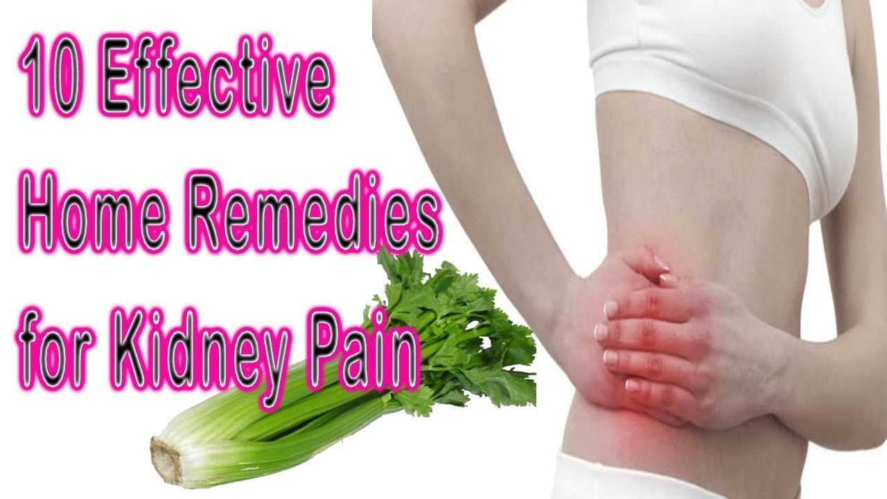 How To Cure Kidney Pain Naturally