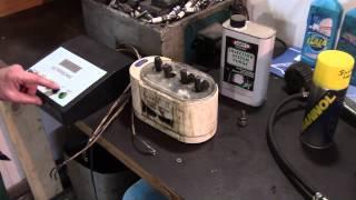 Гаражное бюджетное оборудование для промывки форсунок (чистка инжектора)