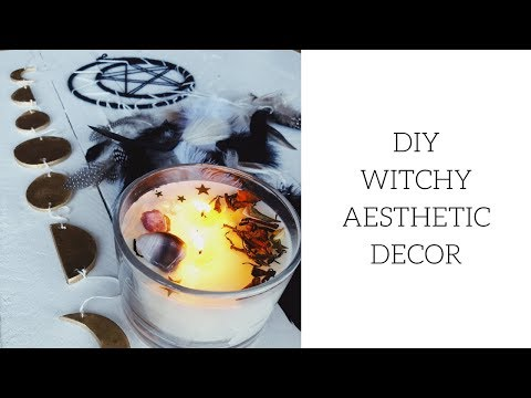 DIY Witchy Aesthetic Decor