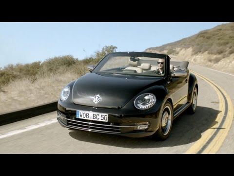 2013 VW Beetle Convertible '50s edition [HD]