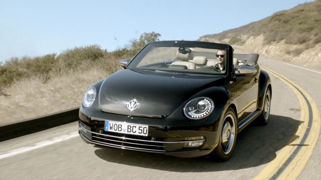 2013 vw beetle convertible 39 50s edition hd youtube. Black Bedroom Furniture Sets. Home Design Ideas