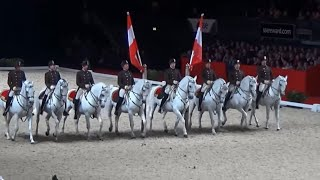 Spanish riding School of Vienna, Airs Above the Ground at Wembley Arena