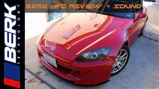 s2000 berk high flow cat review sound