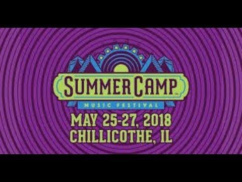2018 Summer Camp Music festival Vlog