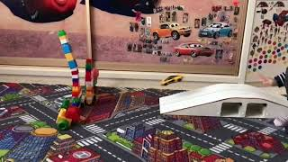 Toy cars crush test