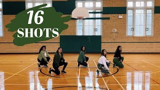 16 Shots - Stefflon Don | STTM HIP HOP DANCE CHOREOGRAPHY