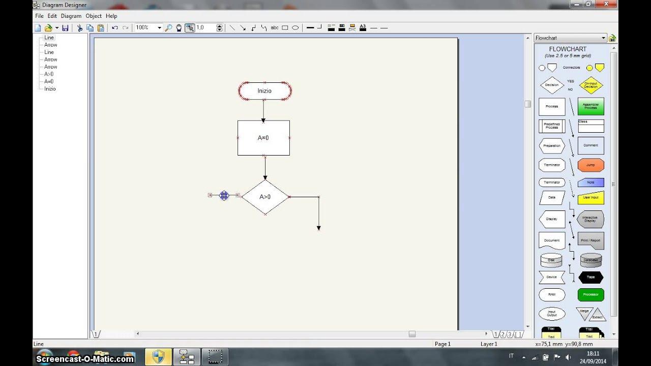 Uso di diagram designer youtube ccuart Image collections