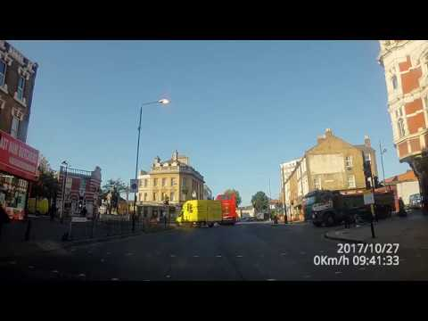Driving in London 4k east London Ilford Barking Stratford
