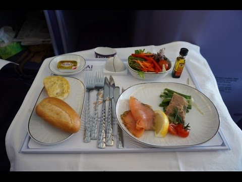 Thai Airways Business Class Paris to Bangkok TG931 on the Airbus A380