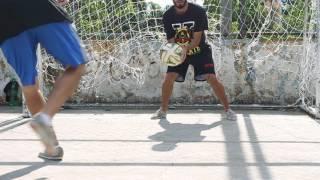 como fazer gol de uma maneira diferente cara a cara com goleiro elastico issy akka tutorial