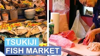 Tsukiji Fish Market  | TOKYO JAPAN VLOG