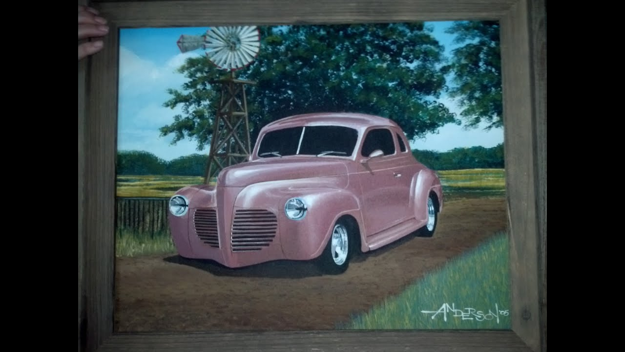 1941 Plymouth Business Coupe Youtube Chopped