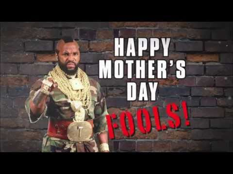 Mother's Day Message from Mr. T: Raw, May 5, 2014