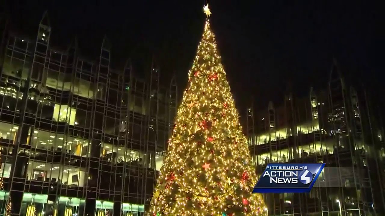 Light Up Night In Pittsburgh: Watch The Tree Light Up At The PPG Place Ice  Rink