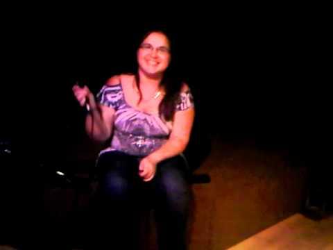 Alana Katsi'tsaienhne Thomas - First time karaoke solo!!