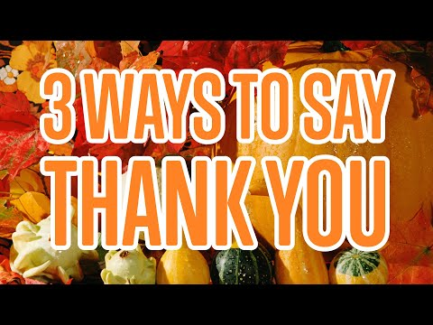How to Say Thank You in Hindi - HindiPod101