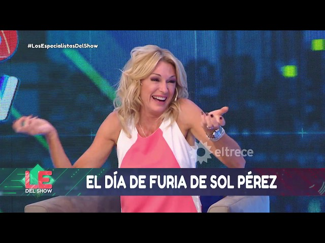 Impactante video de Sol Pérez golpeando salvajemente un auto