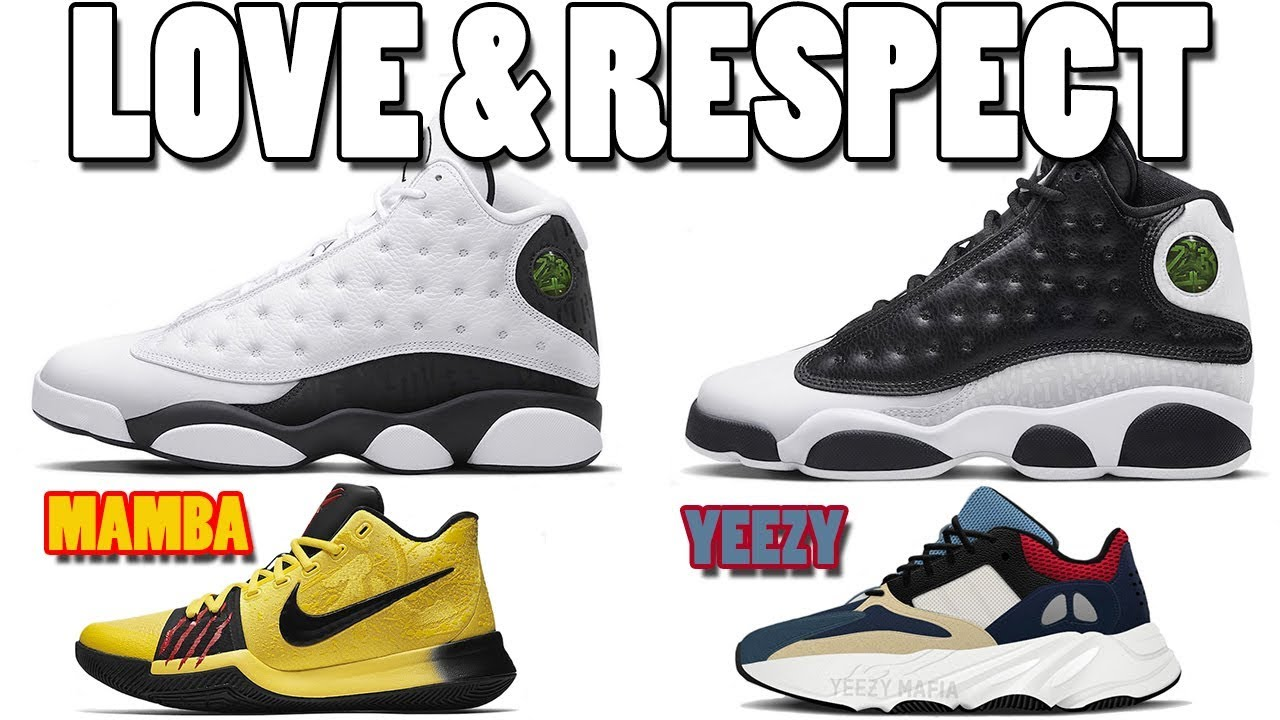 huge selection of a1103 5027b AIR JORDAN 13 LOVE RESPECT PACK INFO, KYRIE 3 MAMBA MENTALITY, YEEZY BOOST  WAVE RUNNER 700 AND MORE