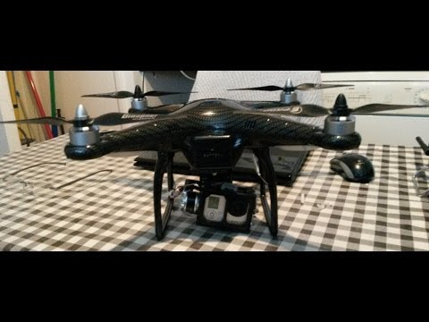 DJI Phantom Professionally Carbon dipped with Aeroxcraft Gimbal and Gopro3 Camera