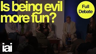 Is Being Evil More Fun?   Full Debate   John Milbank, Patricia MacCormack, Christopher Hamilton