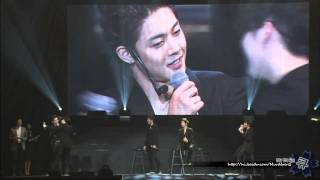 SS501 Kim Hyung Jun Kiss Kim Hyun Joong - Concert In Saitam.