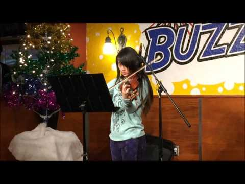 Alexandria Cui plays Bruch Violin Concerto No.1, first mvmt at Classical Open Mic Night